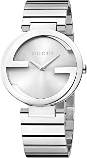 Gucci Women's Silver Dial Stainless Steel Band Watch [YA133308]