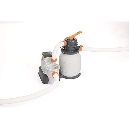 Bestway 58497 Filtre à sable 5,678 m3/h, pompe 230 W, pré-filtre