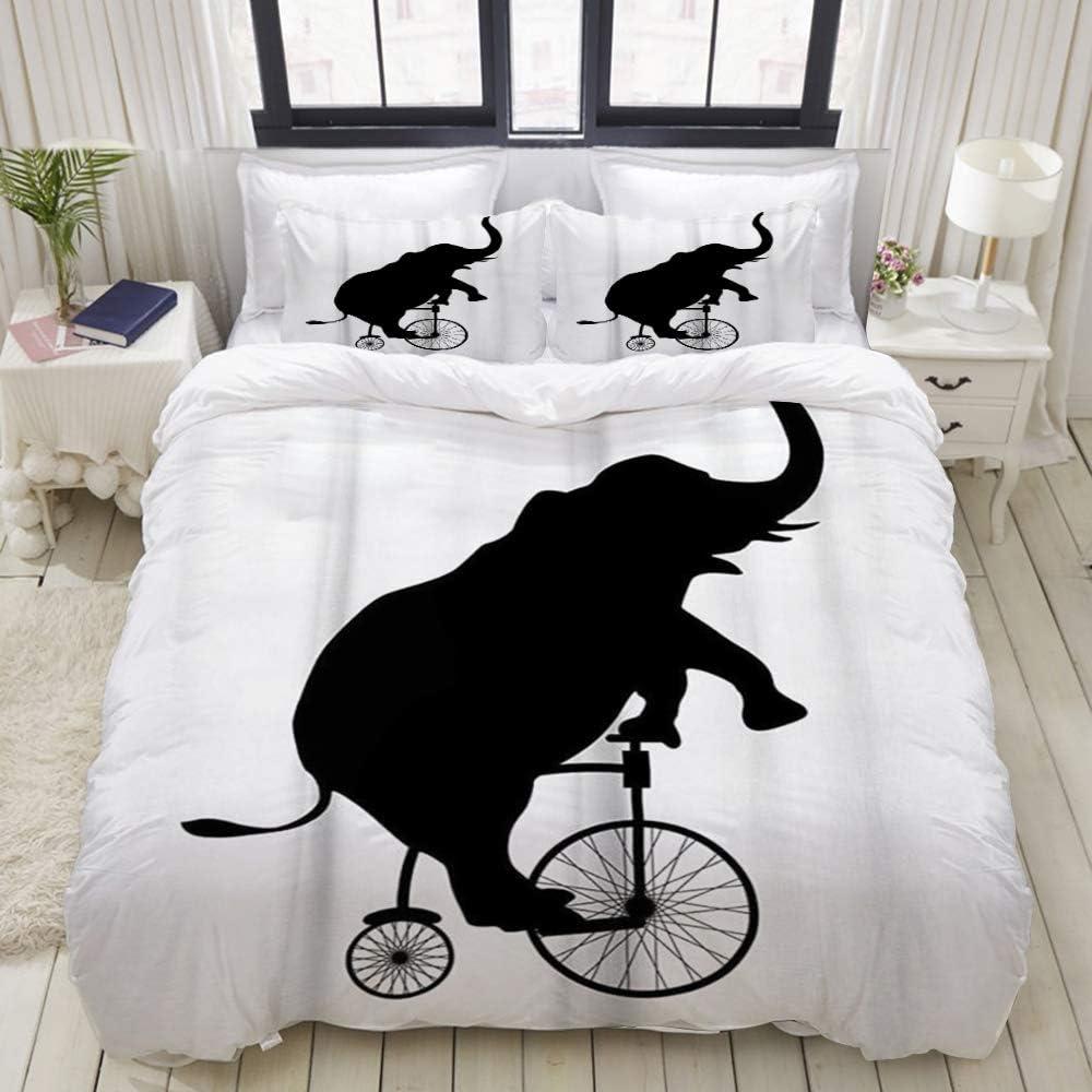 ALLMILL LIASDIVA 人気ブランド Duvet Cover Creative 激安格安割引情報満載 Elephant Set Ultra Bedding