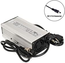 42V 8A Charger 10S 36V Li-ion Battery Charger with Cooling Fan Aluminum Shell Quick Charge (42V8A DC-5.52.1)