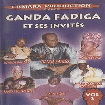 Ganda Fadiga et ses invités, vol. 2 (Live)