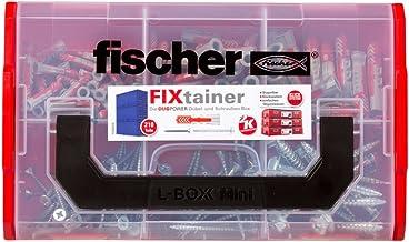 Fischer 535969 Fixtainer Duoline Fixtainer Duopower En Schroef, Rood/Grijs