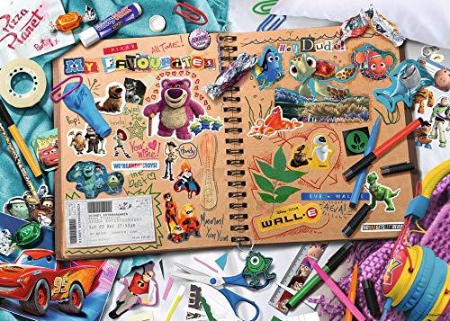 CJF123 1000 Descompresión para Adultos Rompecabezas para niños Diversión Juguetes educativos-Pixar Clipart Disney (70cm * 50CM)
