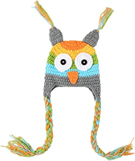 crochet animal hats for kids