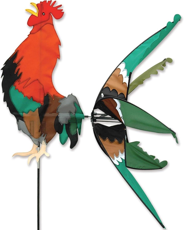 Premier Kites 40 in. Morning Rooster Spinner