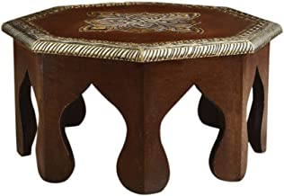 Rusticity Wooden Altar Table/Pooja Chowki/Plant Table