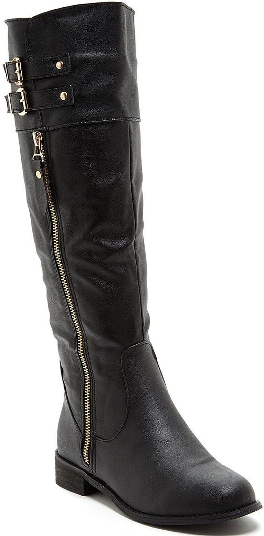 Bucco Bince Womens Fashion Riding Boots
