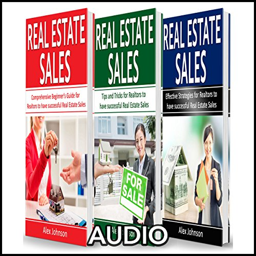 Real Estate Sales: 3 Manuscripts in 1 audiobook cover art