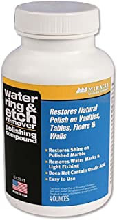 Miracle Sealants WATRINEREM12 Water Ring & Etch Remover Restorative Products, 4 oz.