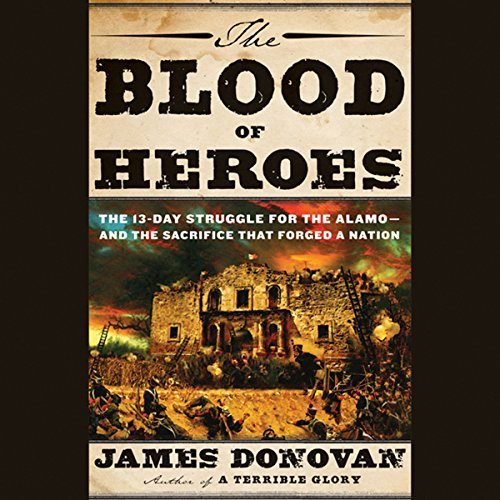 The Blood of Heroes audiobook cover art