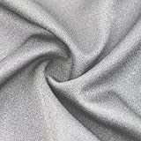 Silver Gray Tulle Speaker Grill Cloth Stereo Fabric Replacement for Home Speaker, Large Speaker, Stage Speaker and KTV Boxes Repair - 63 x 40 in / 160 x 100 cm