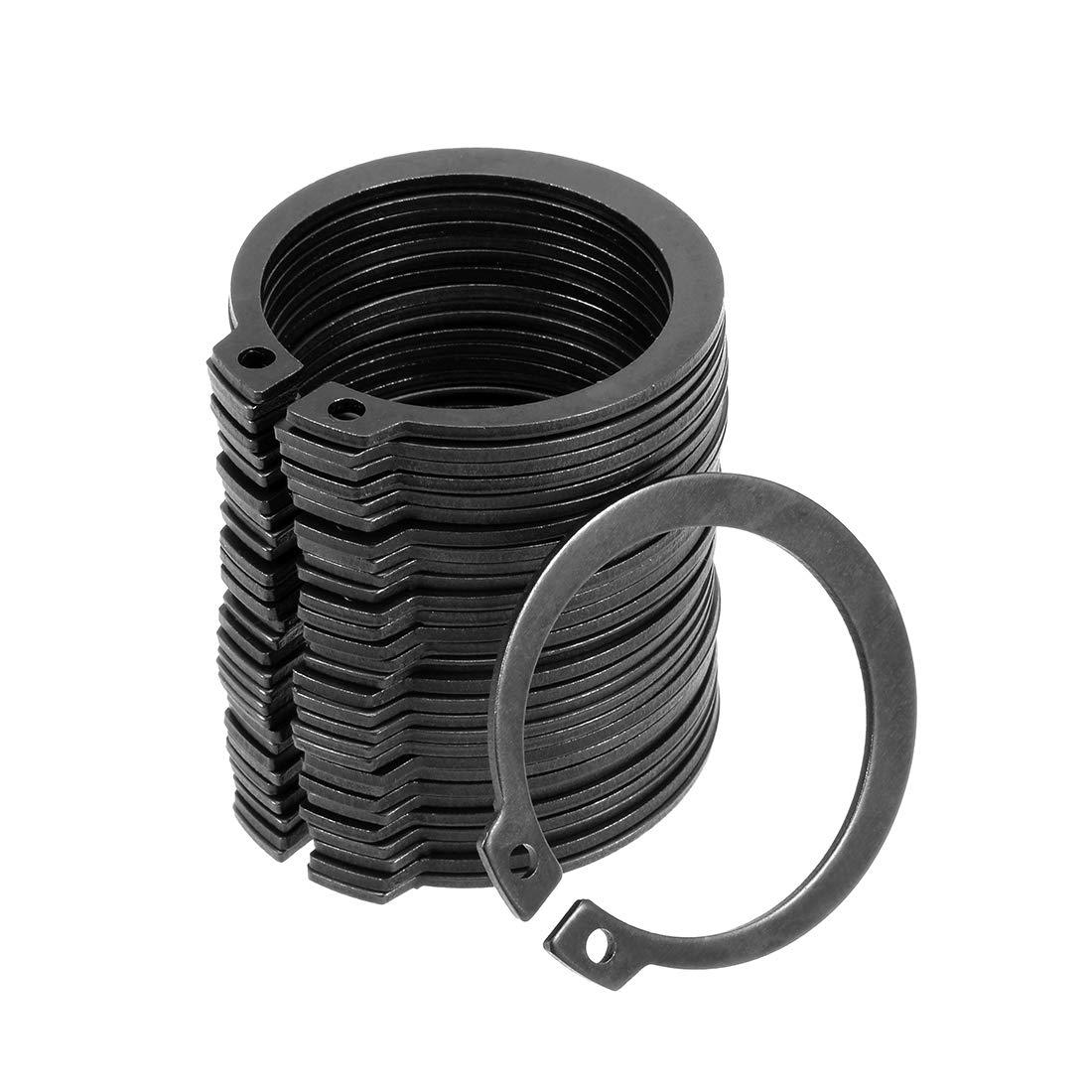 uxcell 42.5mm External Circlips C-Clip Ring mart Shaft Snap El Paso Mall Retaining
