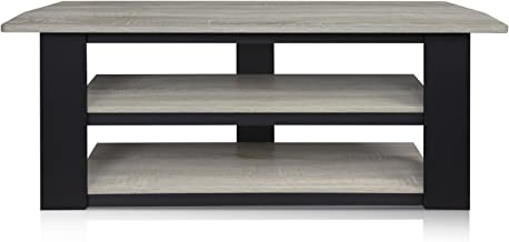 FURINNO Parsons 42-in TV Entertainment Center, French Oak Grey - coolthings.us