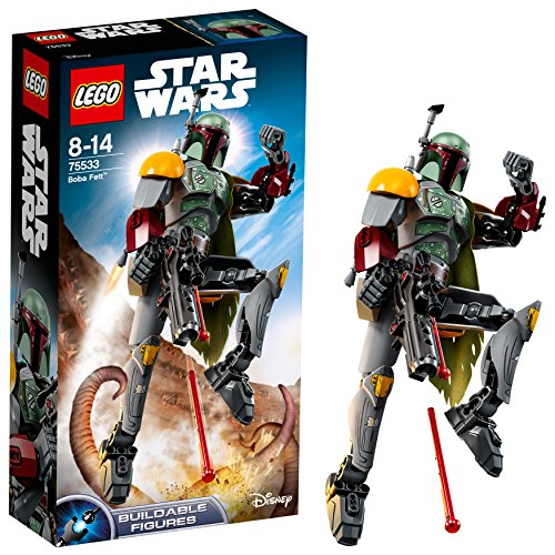 LEGO-Star Wars con structionBoba Fett, Multicolore, 75533