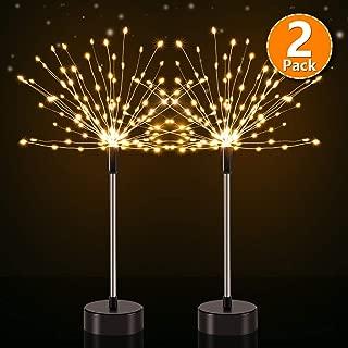 CrazyFire Firework Light with Remote Control,152 LED 8 Mode Twinkle Lights,DIY Starburst Light for Living Room,Bedroom,Wedding Ceremony,Celebration Party(2 Pack)
