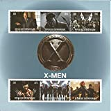 Collectables sellos–X-Men Marvel DC Comics película MNH Stamp Sheetlet 2016