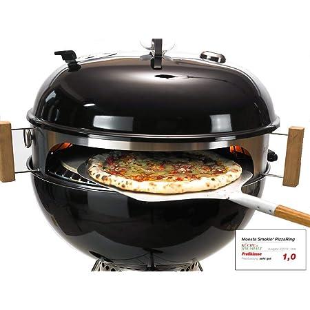 Moesta BBQ - Smokin 'Pizza Ring – Pacchetto Completo per Pizza