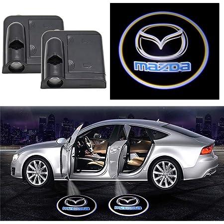 2X LED door step courtesy laser projector light For Mazda 8 RX-8 mazda 6 atenza