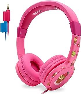 EasySMX Kids Headphones - Wired Headphones for Children Girls Boys, Adjustable Headband, Stereo Sound, in line Control,Share Port, 3.5mm Aux Jack, Children Headset