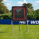 Forza Lacrosse Rebound Net | Spring-Loaded Rebounding Training Net for Lacrosse
