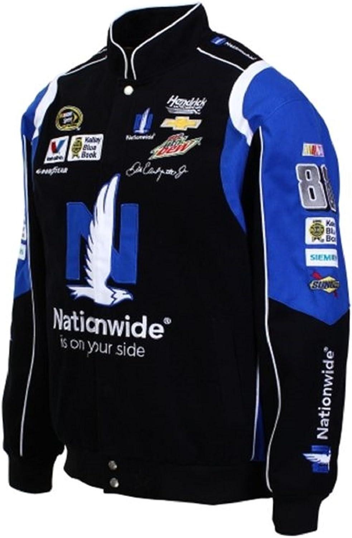 Dale Earnhardt Jr. Nationwide NASCAR Black Jacket Size 3XLarge