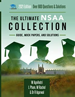 The Ultimate NSAA Collection: 3 Books In One, Over 600 Practice Questions & Solutions, Includes 2 Mock Papers, Score Boost...