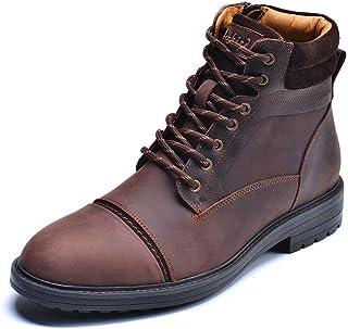 Mens Chelsea Boots, Stylish and Comfort Leather Chukka...