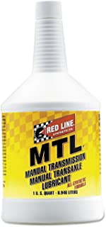 Red Line (50204) SAE 75W80 API GL-4 Manual Transmission and Transaxle Lubricant - 1 Quart (Pack of 2)
