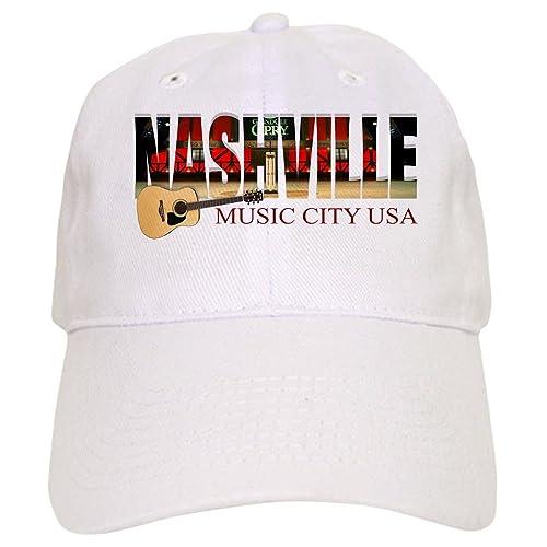 81e65797f1fa1 CafePress Nashville Music City USA Baseball Baseball Cap