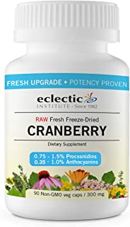 Eclectic Cranberry 300 Mg Cog FDUV, Blue, 90 Count