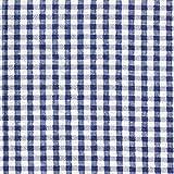 Fabulous Fabrics Seersucker kariert – Marineblau —