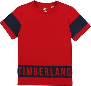 Timberland Camiseta de algodón orgánico Niã'O