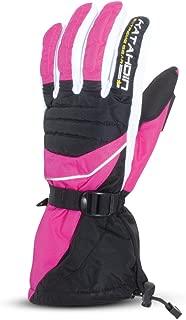 Katahdin Gear Frostfire Snowmobile Gloves Pink Adult Size S