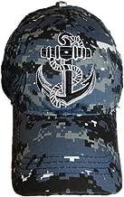 US Navy Seal Anchor Shadow Blue Acu Desert Digital Marpat Camo Cap Hat