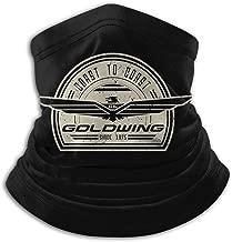 Belindaa Goldwing-Retro Fleece Winter Neck Warmer for Men Women Ski Neck Gaiter Cover Face Mask
