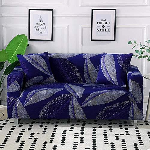 Fsogasilttlv Sofa Cover Machine Washable Furniture Protector 4 Seater,High Stretch Sofa Cover Full Cover, All-Inclusive Non-Slip Fabric Seat Cushion Sofa Towel Cover 235-300cm(1pcs)