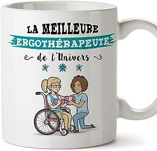 MUGFFINS ergothérapeute. Tasses Originales de café et Petit-déjeuner à Donner..