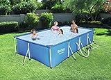 Bestway Steel Pro Frame Pool Set, rechteckig, blau, 400 x 211 x 81 cm - 2