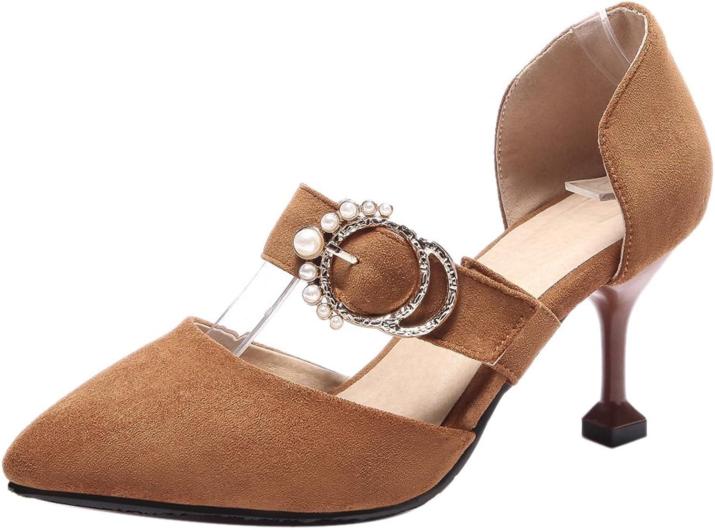 TAOFFEN Women's D'Orsay Pumps shoes Heels