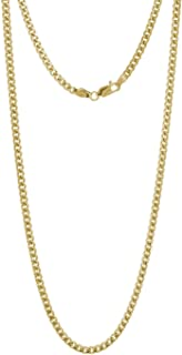 Best 14k solid gold miami cuban link chain Reviews