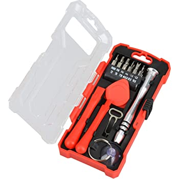 Controlle Magnetic Repair Tool Kit Screwdriver Kit with Portable Bag for iPhone iPad Gaming Console Precision Screwdriver Set MacBook