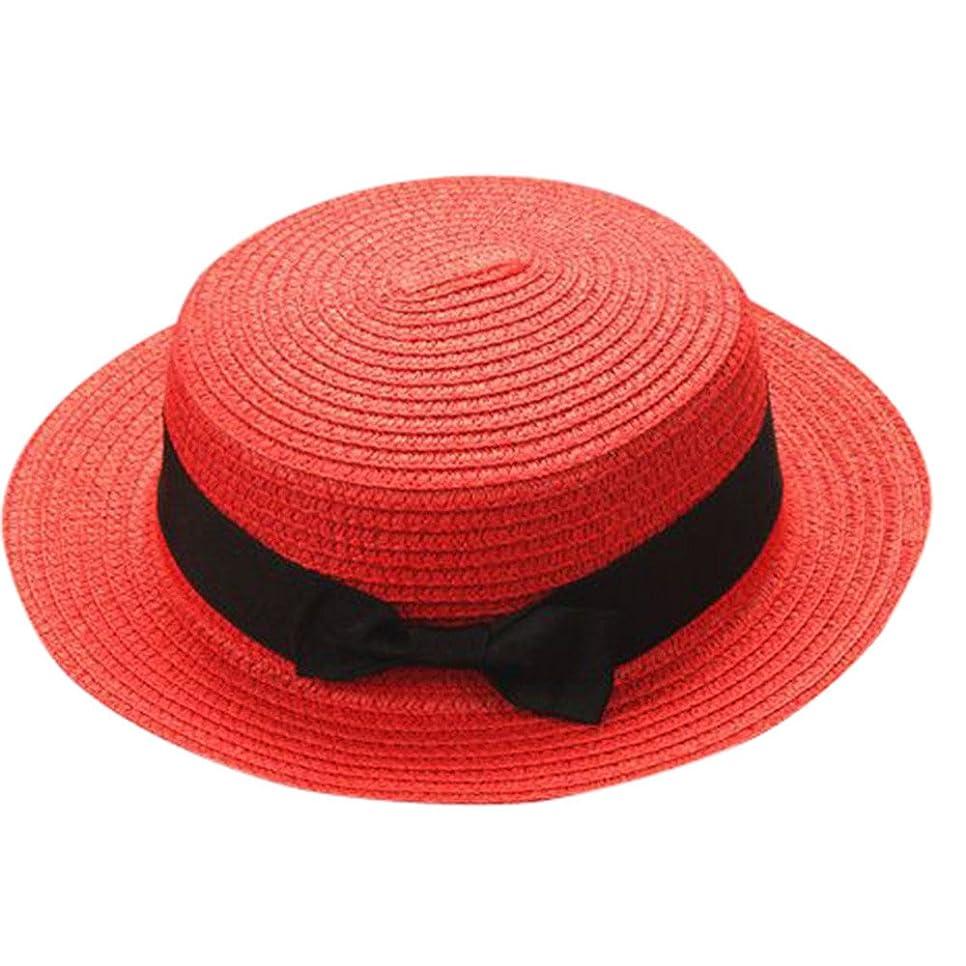 前件スキー汚染されたキャップ キッズ 日よけ 帽子 小顔効果抜群 旅行用 日よけ 夏 ビーチ 海辺 かわいい リゾート 紫外線対策 男女兼用 日焼け防止 熱中症予防 取り外すあご紐 つば広 おしゃれ 可愛い 夏 ROSE ROMAN