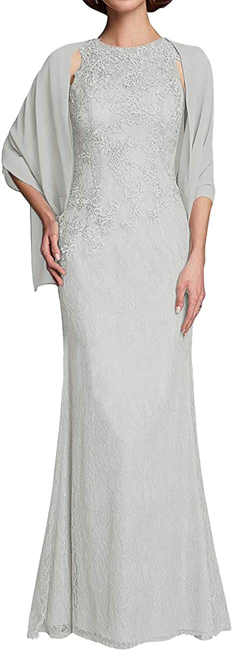Mother of The Bride Dresses Ranking TOP12 Long Evening Lace New popularity Gowns Formal with