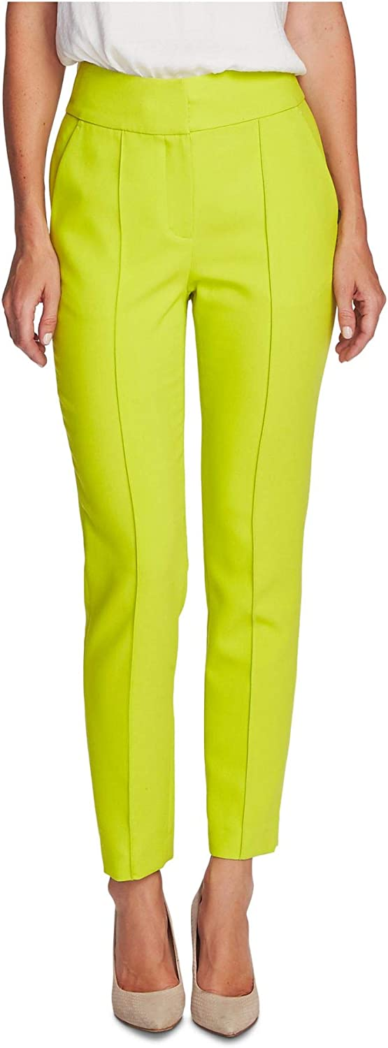 Vince Camuto Womens Green Straight Leg Wear to Work Pants Size 4