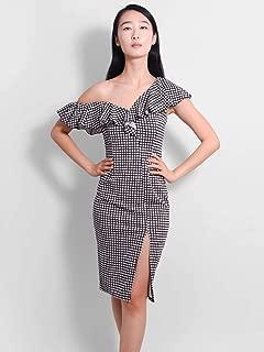 Delilah Asymmetric Midi Dress