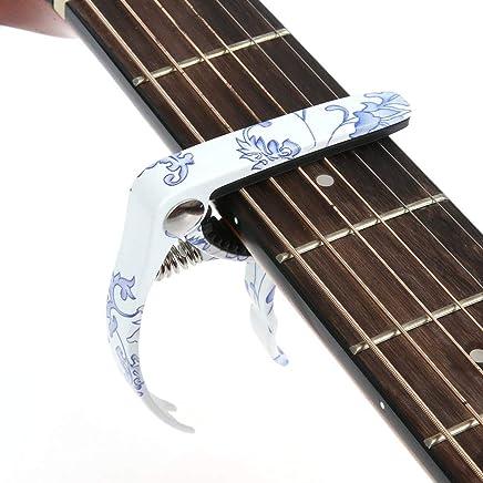 Hidear H-27 Capo Cejilla para guitarra ac/ústica y el/éctrica color negro