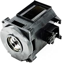 CTLAMP A+ Quality NP26LP Replacement Projector Lamp NP26LP Compatible Bulb with Housing compatible with NEC NP-PA622U PA-521U PA-571W PA522U PA572W PA621U PA622U PA671W PA672W PA722X