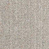 Fabulous Fabrics Mantelstoff Schurwoll Mohair Mix Fischgrat
