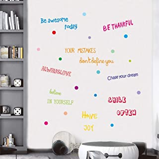 inspirational wall clings