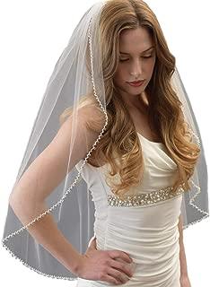 swarovski crystal wedding veil